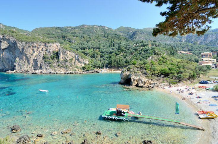 Paleokastritsa. Agios Petros Bay