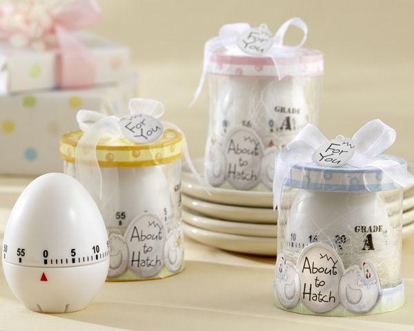 baby shower favors kitchen egg timer baby shower favor in showcase gift box