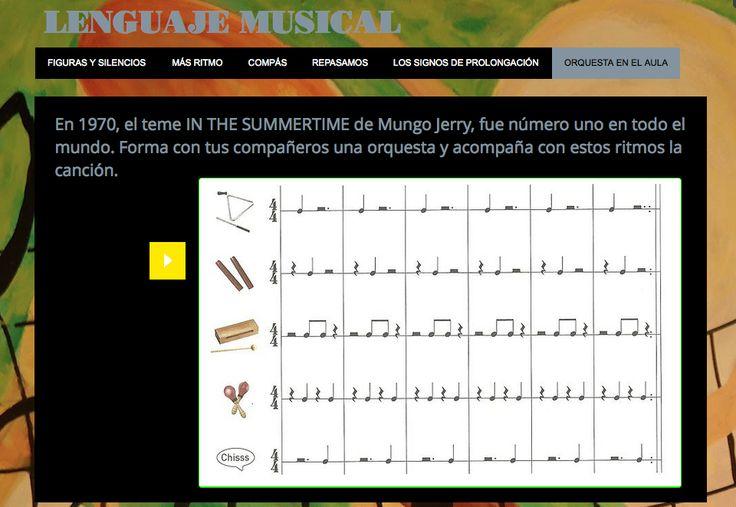 Gracias a Magdalena Giaccaglia del blog Música Maestro, por este recurso para trabajar el lenguaje musical.