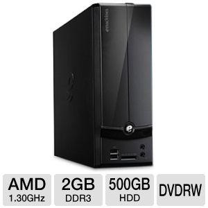 $199 eMachines AMD E-300 Refurbished Desktop PC