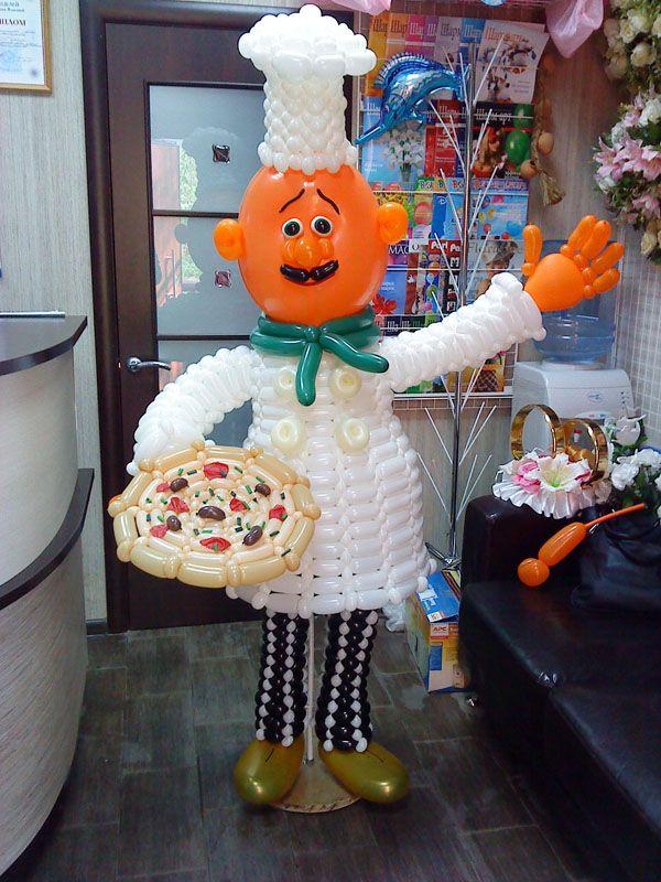 повар из шаров своими руками: 14 тыс изображений найдено в Яндекс.Картинках