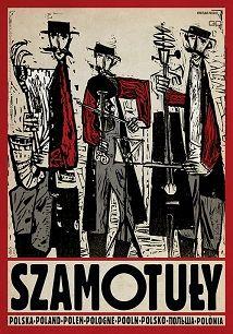 Ryszard Kaja - Szamotuły, polski plakat turystyczny