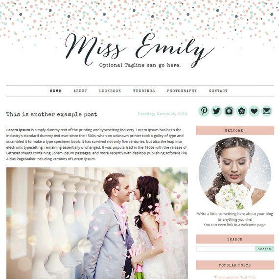 Best 25 blogger templates ideas on pinterest website for Blog design ideas