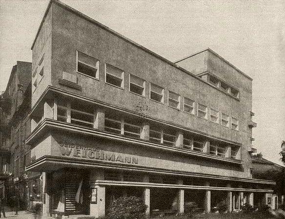 Seidenhaus Weichmann | Gliwice, Poland | Erich Mendelsohn