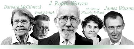 Nobel Prize winners in medicine and physiology