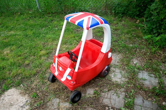 """Little Tikes """"Cozy Cooper"""" makeover featured on Ohdeedoh"""