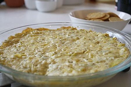 Artichoke Dip with Dubliner Cheese