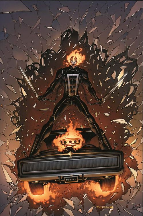All New Ghost Rider #3 Variant - Mark Texeira