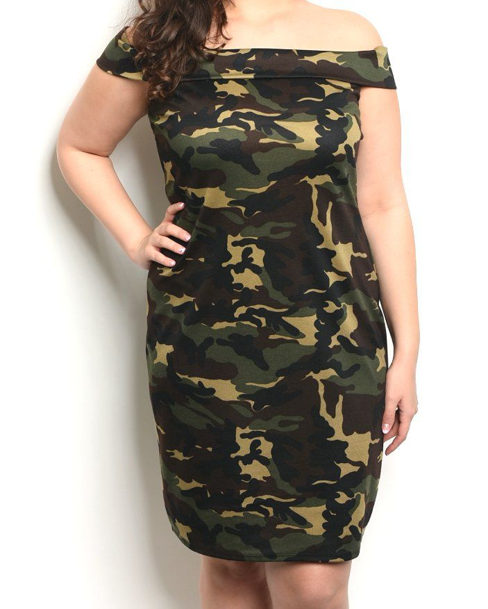 192c6d34f3a  39++Plus+Size+Off+Shoulder+Camo+Print+Sheath+Dress