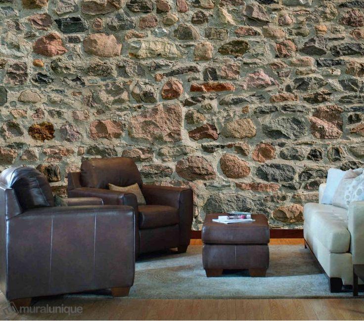 Mur en Pierres des Champs 12' x 8' (3,66m x 2,44m)