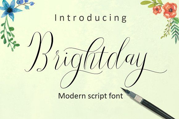 Brightday by cooldesignlab on @creativemarket