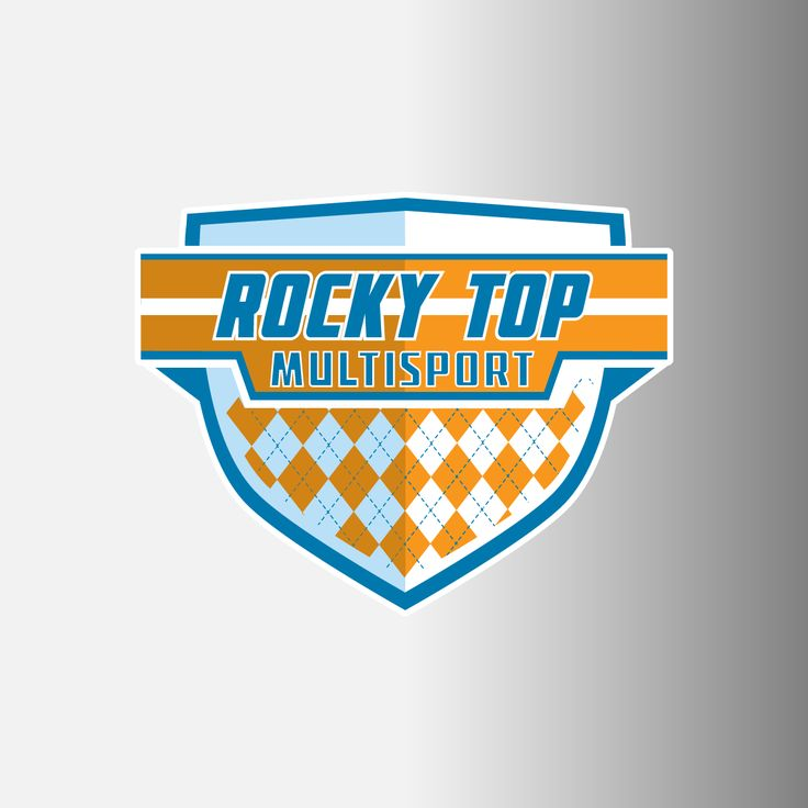 "Rocky Top Multisport 4"" Logo Decals"