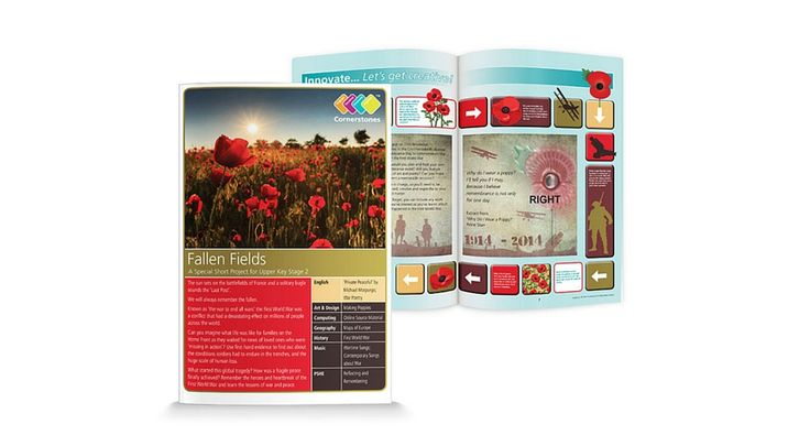 Fallen Fields is a mini-project about the First World War and is ideal for Upper KS2 children. | Cornerstones Education