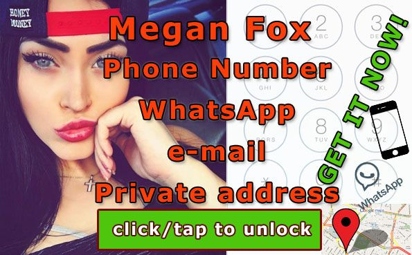 Celebrities news and contact - get phone number! + Megan Fox Phone Number + whatsapp  http://celebritiesmovie.com/celebrities-detail/megan-fox-phone-number-email-download/