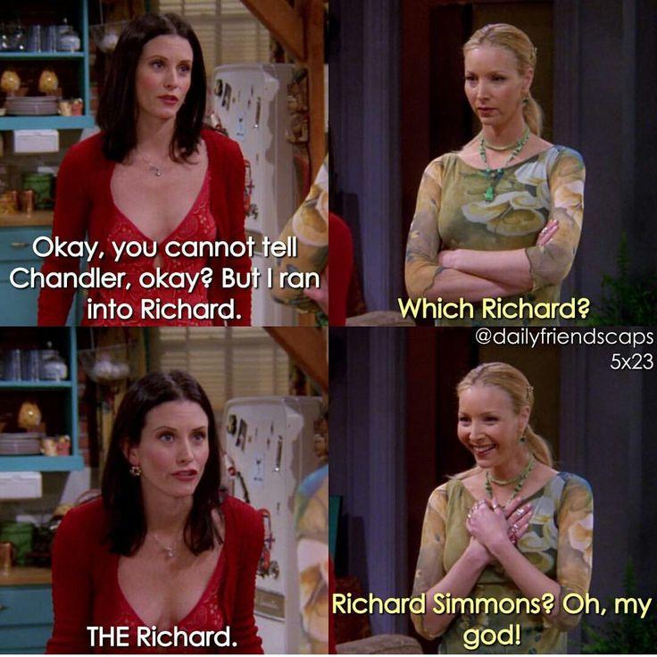 Monica N Phoebe Friends