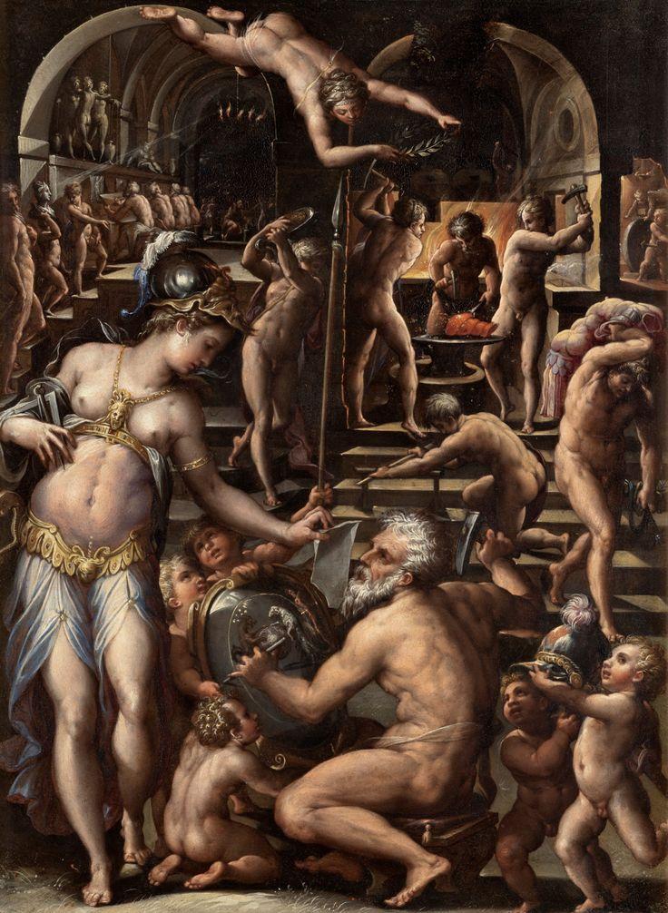 Giorgio Vasari - Vulcan's Forge. 1540 - 1560