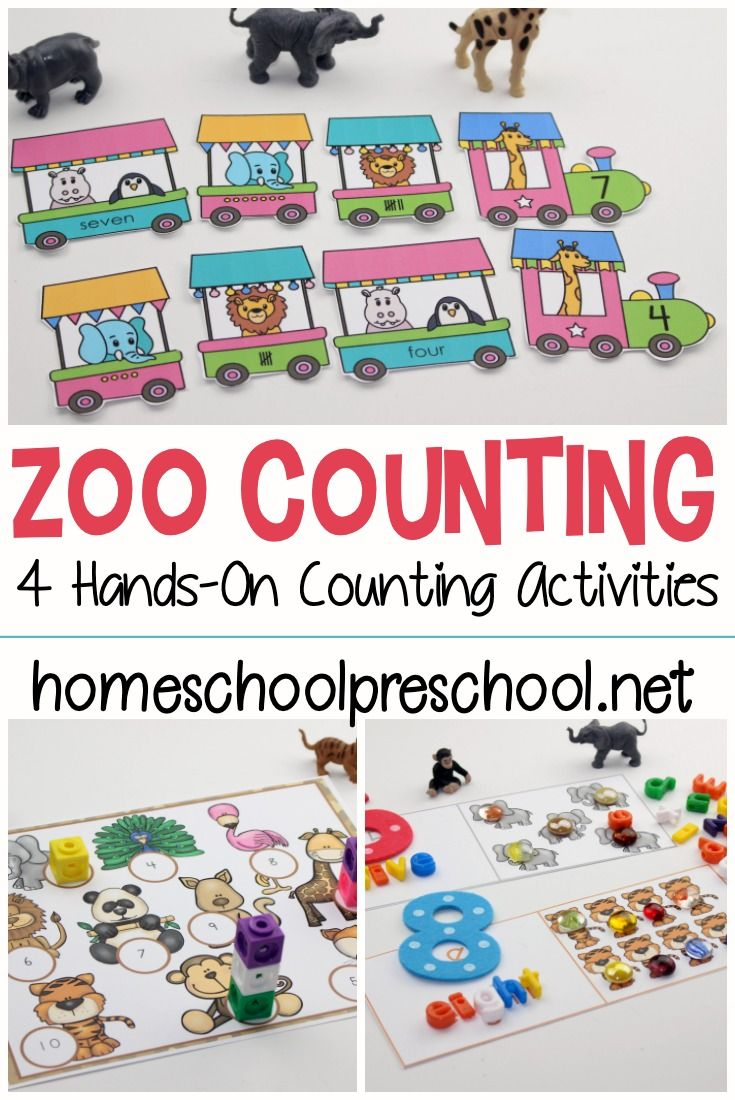 A Collection Of Our Favorite Math Activities For Preschoolers Math Activities Preschool Preschool Activities Animal Activities For Kids [ 1100 x 735 Pixel ]