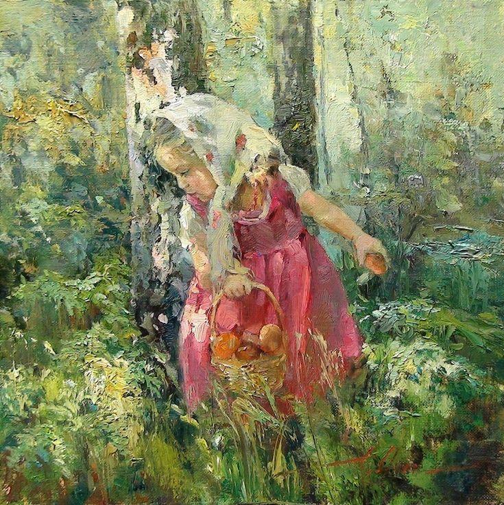 Inessa Morozova, 1981   Plein air /Figurative painter   Tutt'Art@   Pittura * Scultura * Poesia * Musica  