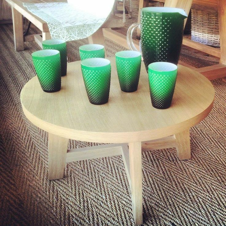 Green Glasses My Future Home Pinterest Tree Coffee Table And Furniture Styles