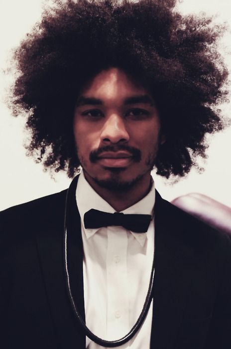 Je veux le même <3: Black Men, Natural Hair Men, Terence Nanc, Bows Ties, Black Bows, Hair Style, Natural Hairstyles, Black Beautiful, Afro Style