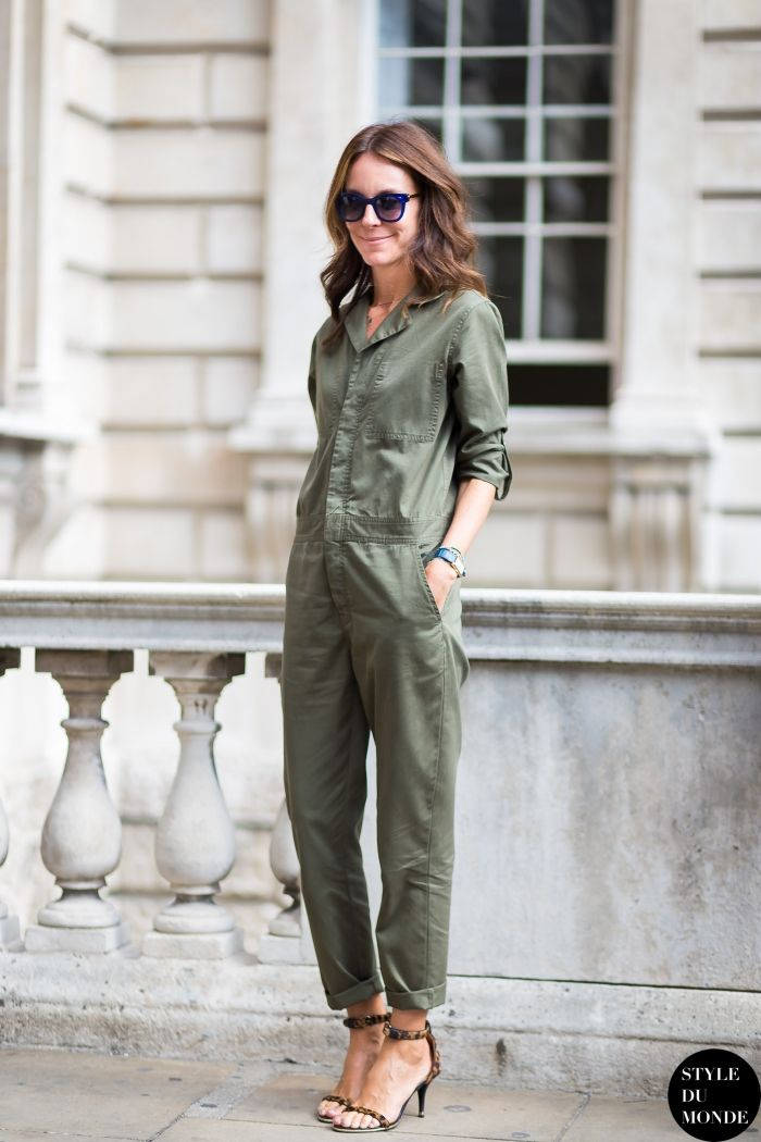 London FW SS15 Street Style: Alison Loehnis, Net-a-Porter president, after Marios Schwab fashion show. 16 Sep '14