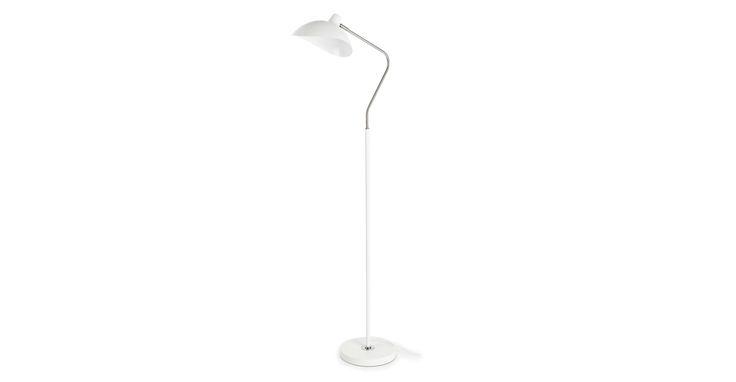 Leap White Floor Lamp