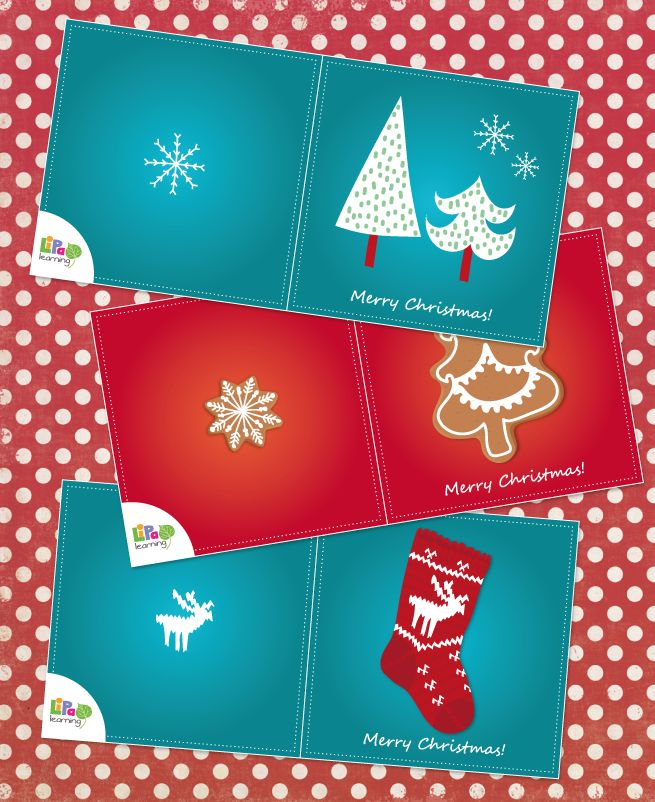 7 days to Christmas! - Lipa gives you free downloadable Christmas greeting cards. Download them now.