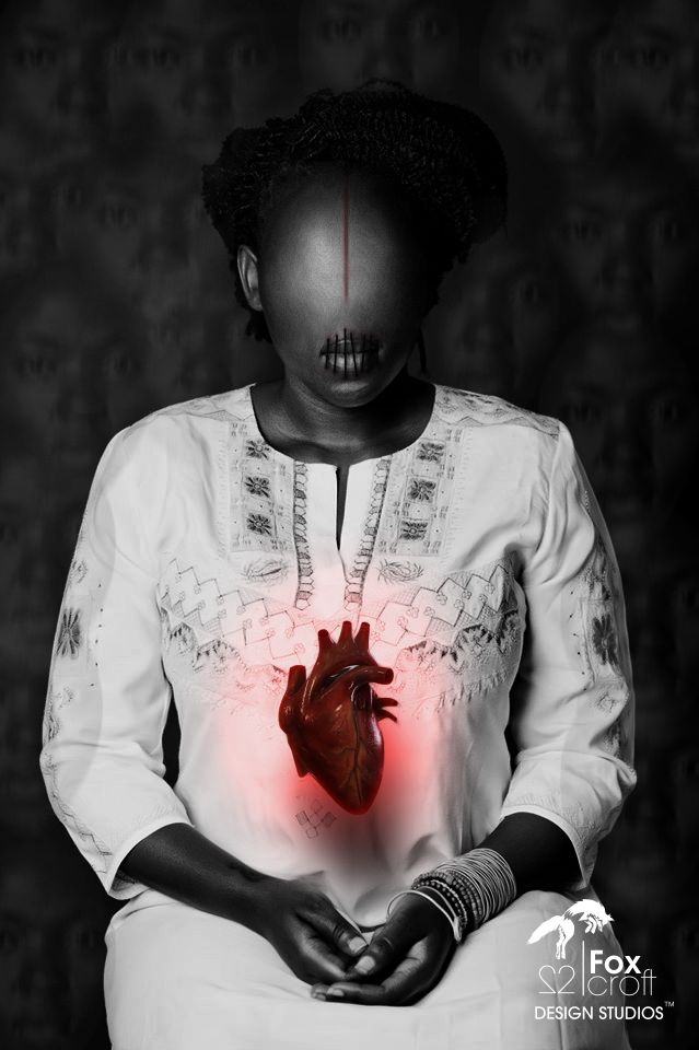 Ancestral Love for the Chosen one... Speechless they cannot lie... Live on to our Ancestors.| *Model: Yeyo Aiah Fodo | *Picture by: Lesedi Mogale | *Illustration by: Griphin Gatsby @ 22foxcroft Design Studios