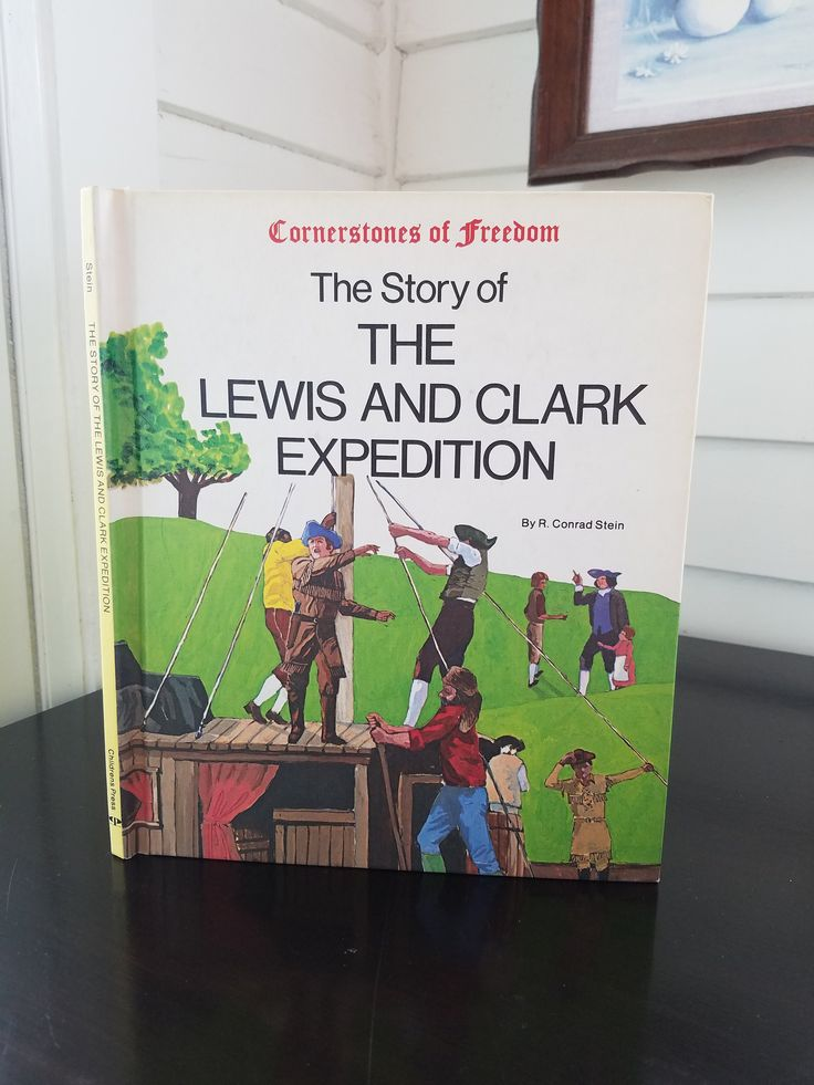 11+ Lewis and clark books best information