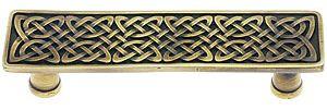 "Celtic Isles Square Knob - 1 3/8"" x 1 3/8"" | House of Antique Hardware"