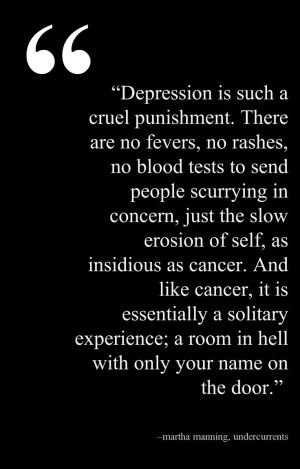 Yeah ik what that feels like. Even though no one has noticed it. I have been in the pool of depression before and I know I'm not the only one.