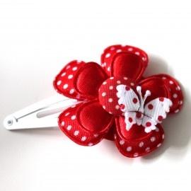 DIY knipje rood/wit