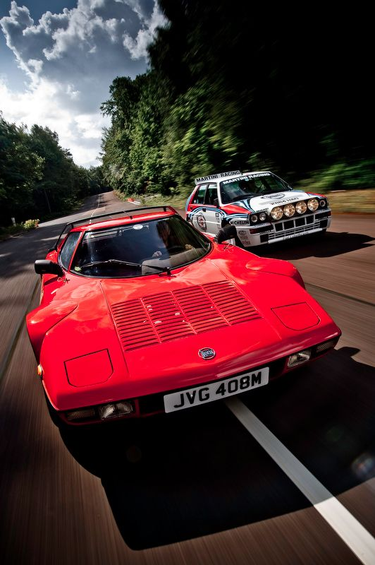 Lancia Stratos & Delta HF Integrale are the most beautiful italian cars for there generartion  / sont les plus belles voitures italiennes pour leur génération
