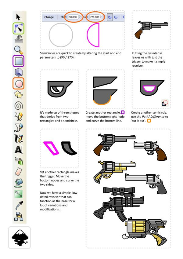 2d Character Design Tutorials : Best images about miscellaneous inkscape tutorials on