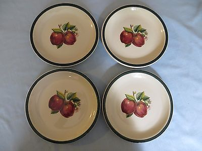 "China Pearl Casuals  Apples set of 4 Salad Plates 7 1/2""  NEED EXTRA!!"