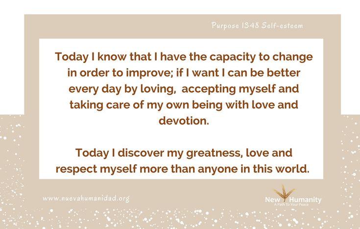 Purpose 1348 Self-esteem