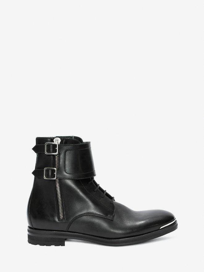 f27ec75382955 ALEXANDER MCQUEEN Double Buckle Boot Boots U f  AlexanderMcQueen ...