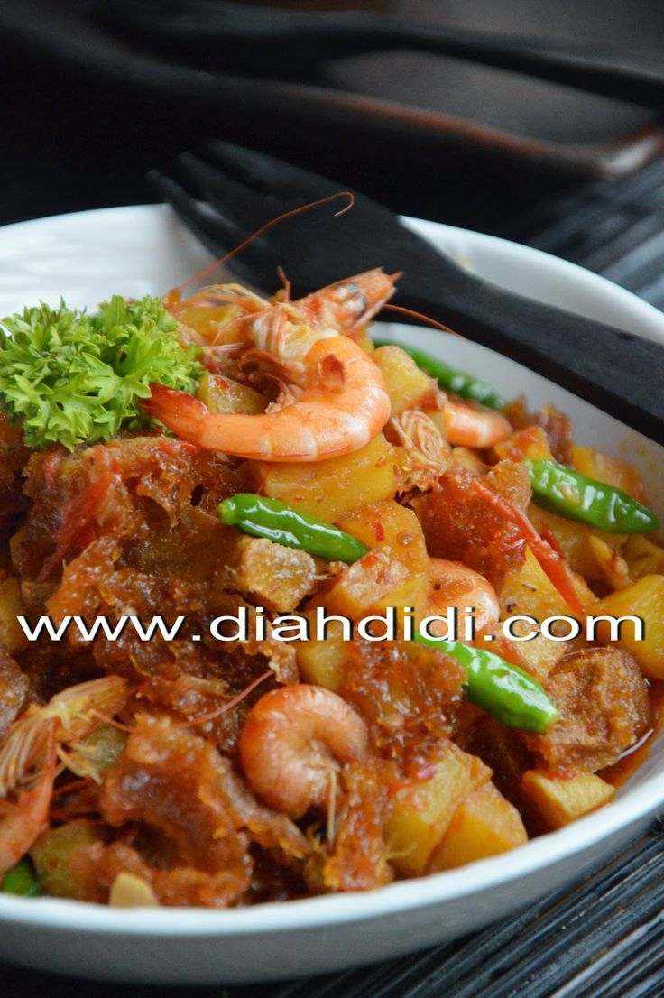 Diah Didi's Kitchen: Sambel Goreng Kentang Tanpa Santan