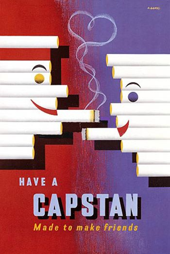 Vintage Advertising Posters | Cigarettes