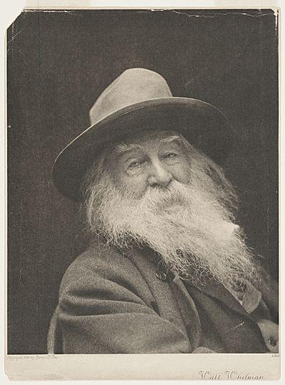 Citation: Walt Whitman, ca. 1887 / George Collins Cox, photographer. [John Flanagan photographs], Archives of American Art, Smithsonian Institution.