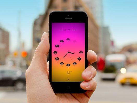 Climate Clock App by Ben Wong