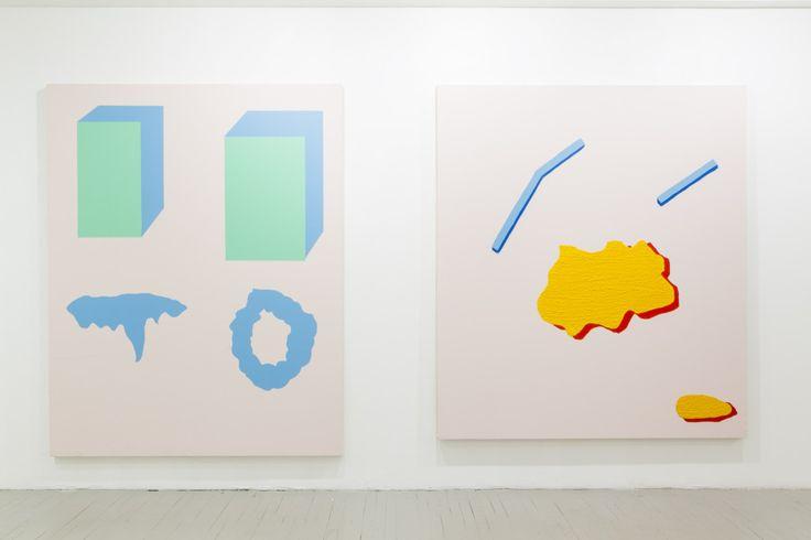 Pierre Julien « Mise en plis » – Peinture Extrême   Galerie Nicolas Robert