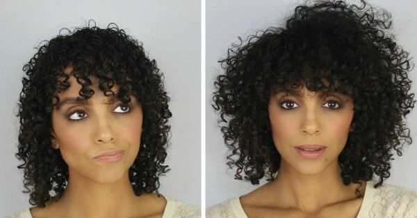 Here's how I style my shaggy curly bob Deva Cut when I leave Shai Amiel's chair.