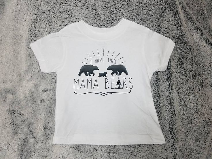 When you are both the mama bear!  bodysuit, two mommies, LGBT lgbt, 2 moms, 2 mommies, two moms, same sex family, lesbians, gay baby clothes
