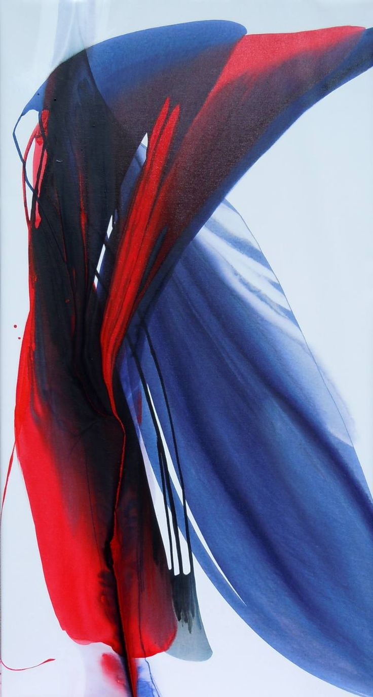 "Saatchi Art Artist Bette Ridgeway; Painting, ""Romancing Red"" #art"