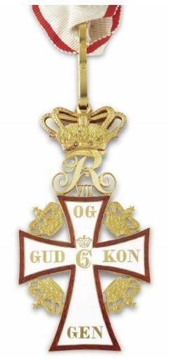 A medal awarded to Sir Ernest Shackleton - Dannebrog of Denmark, 1909