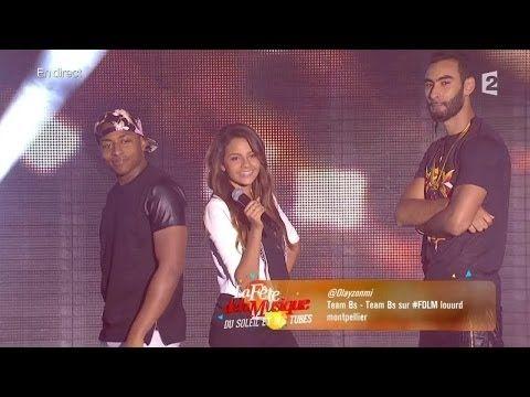 La Fouine, Fababy, Sindy & Sultan : Team BS - La fête de la musique 2014 - YouTube