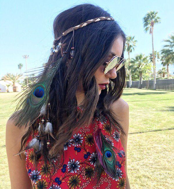 Coachella Hair art by @RiawnaCapri @beautycoach_com -Nina Dobrev (@ninadobrev) | Twitter