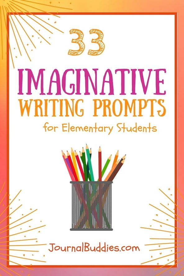 Check out this brand new list of 33 imaginative writing ideas to excite your students and get them interested in writing! via @journalbuddies