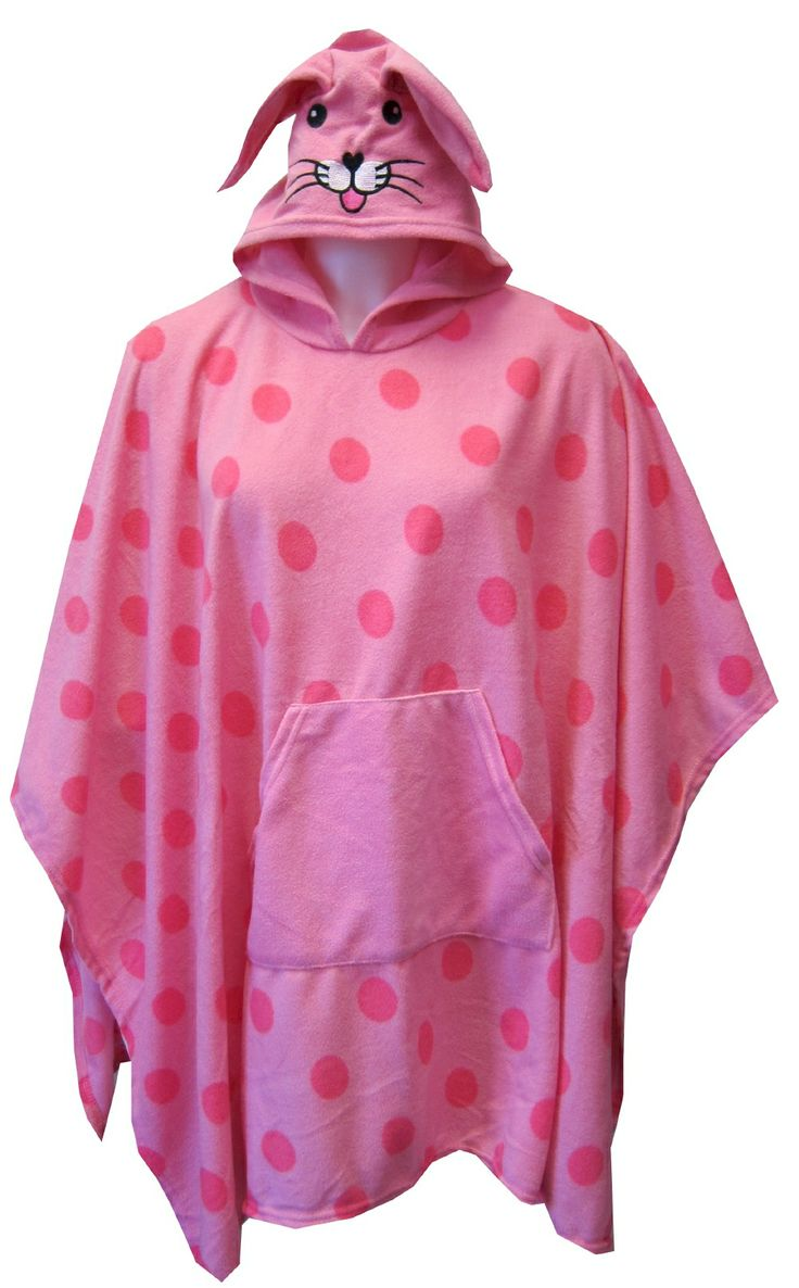 Ponchos, Robes and Bunnies on Pinterest